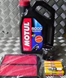 SUZUKI BANDIT 600 MK 1 TO 1999 ENGINE SERVICE KIT INCLUDES OIL AIR FILTER OIL FILTER 4 X NGK CR9EK SPARK PLUGS