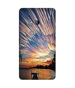 Star Fall Microsoft Lumia N540 Case