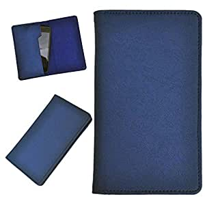 DCR Pu Leather case cover for HTC Desire 310 (blue)