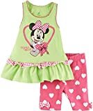 Disney Baby Girls' 2 Piece Minnie Mouse Ruffle Bike Set