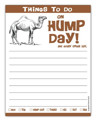 hump-day-camel-notepad-425-x-55-inches-50-sheets-funny-gag-gift-idea