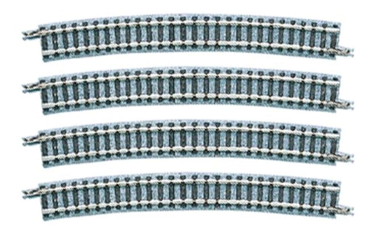 [해외] TOMIX N게이지 커브 레일 C541-15 F 4개 세트 1853 철도 모형 용품-1853