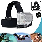 Xtech® Adjustable Head Strap Mount For GoPro HERO4 Hero 4, GoPro HERO3 Hero 3, GoPro Hero3+, GoPro Hero2, GoPro...