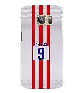 PRINTVISA Football Mandzukic Case Cover for Samsung Galaxy S7 EDGE