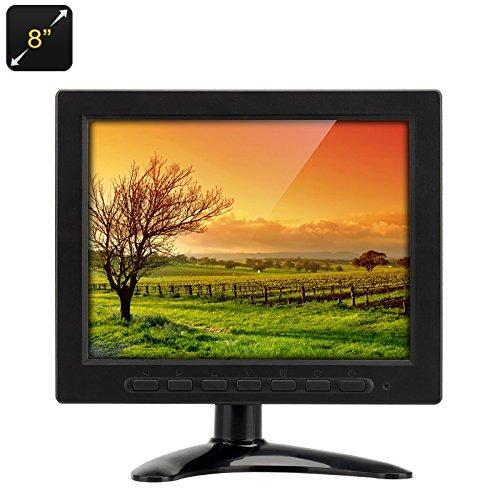 Inch TFT-LCD Monitor - VGA, BNC + AV input, 1024x768