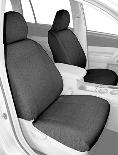 CalTrend Front Captain Chairs Custom Fit Seat Cover for Select Hummer H2 Models - Tweed (Light Grey) (Hummer H2 Caltrend compare prices)