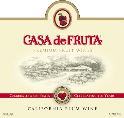 2013 Casa De Fruit Santa Rosa Plum 750 Ml