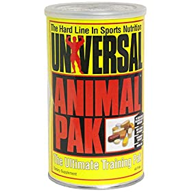 Universal Animal Pak Sports Nutrition Supplement (Pack of 44)