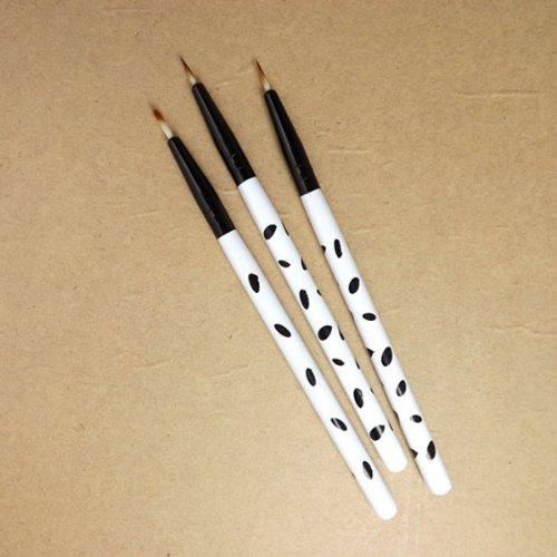 1*Stück Eyelinerpinsel Make-up Tool Wimpern Pinsel tragbar für Reise