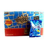 Walkers Squares Salt and Vinegar Potato Snacks 27.5 g (Pack of 48)