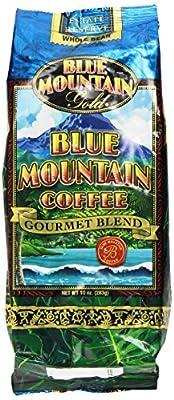 Blue Mountain Hawaiian Gold Kona Coffee Whole Bean 10 Oz