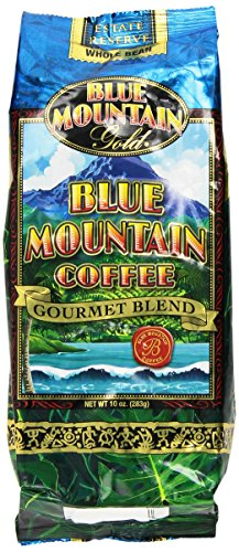 Blue Mountain Hawaiian Gold Kona Coffee Whole Bean 10 Oz (Hawaiian Coffee Kona compare prices)