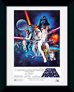 GB eye Star Wars A New Hope Framed Photograph,16x12 inches