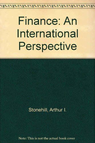 Finance: An International Perspective (Irwin perspectives in international business)