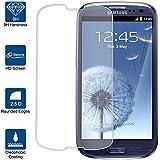 Beiuns Film Protection d'écran en verre trempé ultra dur protecteur d'écran pour Samsung Galaxy S3