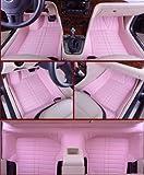 Chevrolet Cruze Floor Mats & Chevy Car Mats (2009-2014) Ultimate Custom Fit Full Surrounded Floor Liner (Pink)