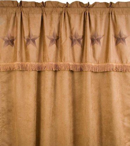 HiEnd Accents Luxury Star Curtain
