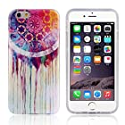 Bessky(TM) Hot Sell 4.7inch Soft TPU Case Cover For iPhone 6 6G (Dream Catcher Painting)