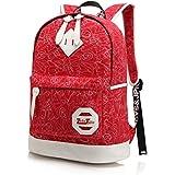 ZeleToile ® Printing Schoolbag Japanese-style school backpack schoolbag / backpack Rucksack computer 10-15.6 inches / backpack hiking trip leisure / School Backpack/girl's shoulder bag/teenagers bag casual/college bag/ Student backpack