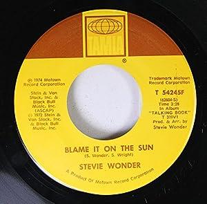 Blame It On The Sun - Stevie Wonder [Download 128,MP3]