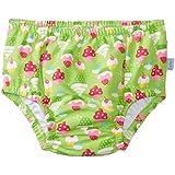 i play. Baby Girls' Ultimate Ruffle Swim Diaper UPF 50+