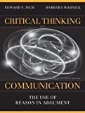 img - for Critical Thinking and Communication: The Use of Reason in Argument (6th Edition) book / textbook / text book