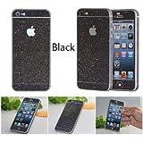 Pour iphone 5c Sticker, Brillant Glitter complet Corps Peau Sparkling Protector Film Stickers Pour iphone 5c (noir)