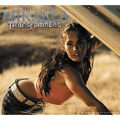 New Transformers Calender featuring Megan Fox