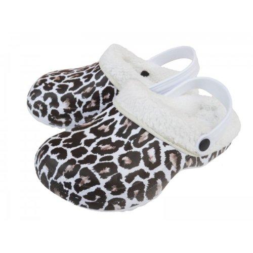sabots leopard pas cher. Black Bedroom Furniture Sets. Home Design Ideas