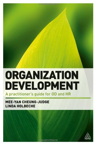 Organization Development: A Practitioner'S Guide For Od And Hr front-565790