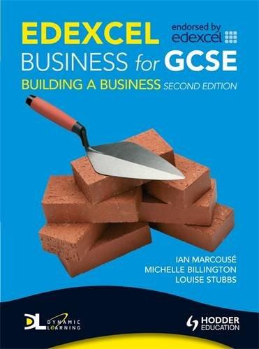 Edexcel Business for Gcse: Building a Business