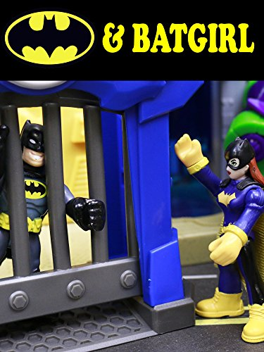 Batman and Robin Meet Batgirl and Joker Stealing a Jet Pack and Joker Tank with Transformers Jail
