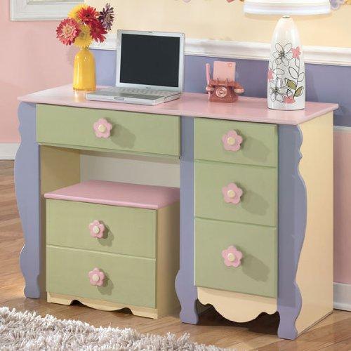 Ashley Furniture Sales Paper: Ashley Furniture: Youth Multi-Colored Pastels Desk Get Rabate