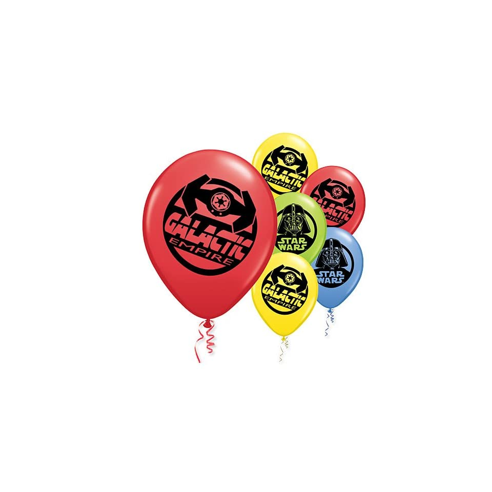 Star Wars 11in Balloons 6ct