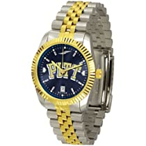 "Pittsburgh Panthers NCAA AnoChrome ""Executive"" Mens Watch"