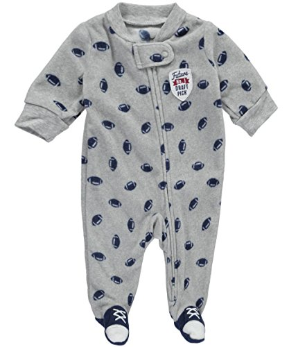 carters-baby-boys-future-draft-pick-footed-coverall-heather-gray-6-months