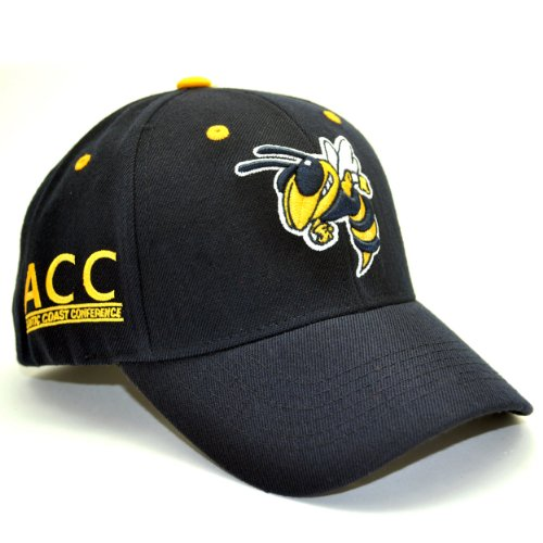 Georgia Tech Yellowjackets Adult Adjustable Hat at Amazon.com