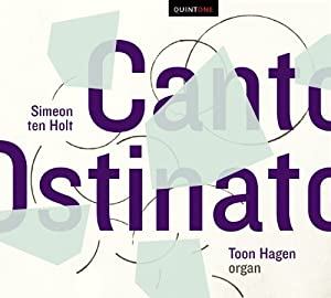 Holt, Simeon Ten; Canto Ostinato