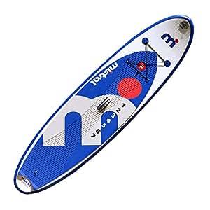 Mistral Standup Paddel Board, Surf Allround I-Sup, Blau/Weiss/Grau, 9'8, 11-6000-098