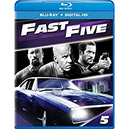 Fast Five - Extended Edition [Blu-ray]
