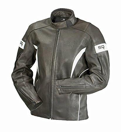SQ 15271 VENICE veste de moto noir/blanc-taille 36