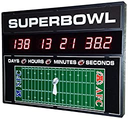 Countdown Today CD-SB1 Superbowl Countdown Clock, 23\