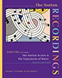 The Norton Recordings: for The Enjoyment of Music: An Introduction to Perceptive Listening, Tenth Edition (Vol. 2: Schubert to the Present) (0393107590) by Forney, Kristine