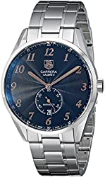 TAG Heuer Men's THWAS2114BA0732 Carrera Analog Display Swiss Automatic Silver Watch