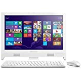 Lenovo C260 19.5-Inch All-in-One PC (White) - (Intel Celeron J1800 2.58 GHz, 4 GB DDR3 RAM, 500 GB HDD, Windows 8.1 with Bing, Integrated Graphics, DVDRW, HDMI, Camera, Wi-Fi) with Free Windows 10 Upgrade