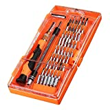 Cymas Magnetic Driver Kits 58 in 1 with 54 Screwdriver Bits, Electronic Repair Tool Kit for Xbox, iPhone, PC, Tablet