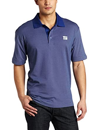 NFL New York Giants Mens DryTec Birdseye Polo Shirt by Cutter & Buck