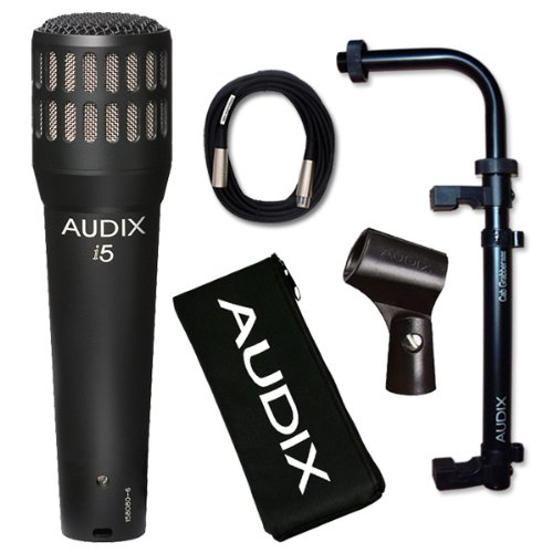 Audix i-5 Instrument Microphone with Cab Grabber and Cable