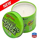 Murphys Mosquito Candle - All Natural Insect Repellent Candle - Palm wax infused with Citronella, Lemongrass & Rosemary. Made in Raleigh, NC!
