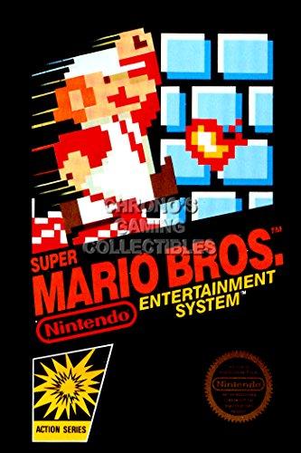 "CGC Poster grande, motivo: Super Mario, Nintendo Bros. Acer NES MAR002-Box Art, Carta, 24"" x 36"" (61cm x 91.5cm)"